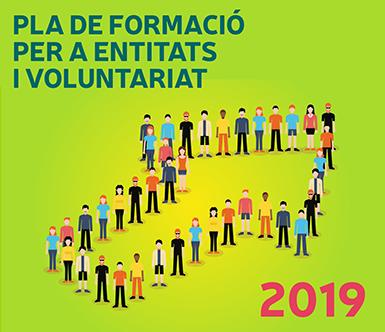 Pla de formació entitats i voluntariat