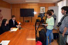 Roda de premsa sobre ampliació del parc d'habitatge social de l'Ajuntament