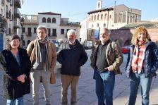 D'esquerra a dreta: Pilar Aznar, Joaquim Campistron, Xavier Torres, Carles Martínez i M. Antònia Marc