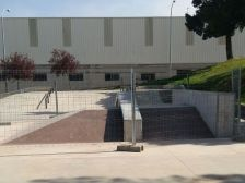 Foto nou mòdul Fun box skatepark del Bugarai