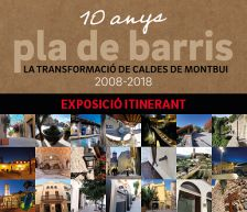 Cartell 10 anys de pla de barris