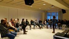 Sessió de formació a càrrec d'Adela Poch