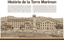 Exposició sobr Torre Marimon