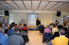 La regidora Roser Guiteras en la presentació del II Fòrum d'Educació