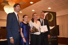 Anna Puig, guanyadora del premi Millor Esportista 2018