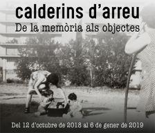 """Imatge de l'exposició """"Calderins d'arreu, de la memòria als objectes"""""""