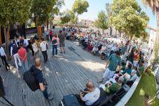 Partits i entitats van realitzar les ofrenes a les pl. 11 de Setembre