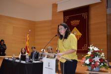 Diana Riba, companya de Raül Romeva
