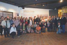"""Les persones que han participat en l'exposició """"Calderins d'arreu"""""""