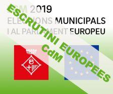 Escrutini eleccions europees 26M