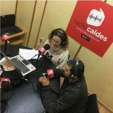 Andrea Lizana i Jordi Graví, a Ràdio Caldes