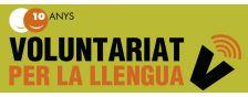 logo voluntariat per la llengua