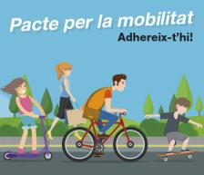 Banner Pacte per la mobilitat