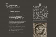 Medalla d'Honor de la Vila de Caldes de Montbui
