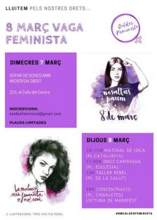 8 de març vaga feminista