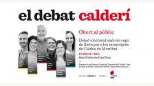 Imatge del debat electoral