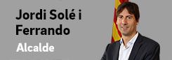 Pàgina de l'alcalde Jordi Solé i Ferrando