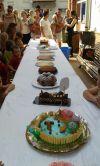 Concurs de pastissos a la festa de fi de curs EBM Gegant del Pi