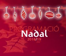 Imatge Programació Nadal 2018/19
