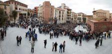 Inauguració de la plaça de la Font del Lleó