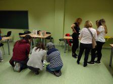 Sessió formativa de voluntaris del programa LECXIT